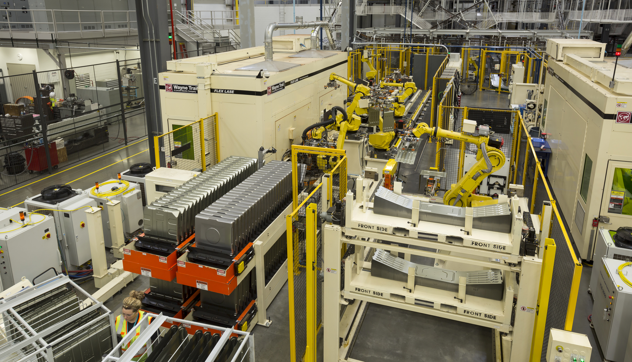 Electrolux Oven Factory With Wayne Trail Assembly Line Sine